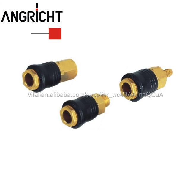 Tipo di europa ottone universale attacco rapido, tubo pneumatico air accoppiatore