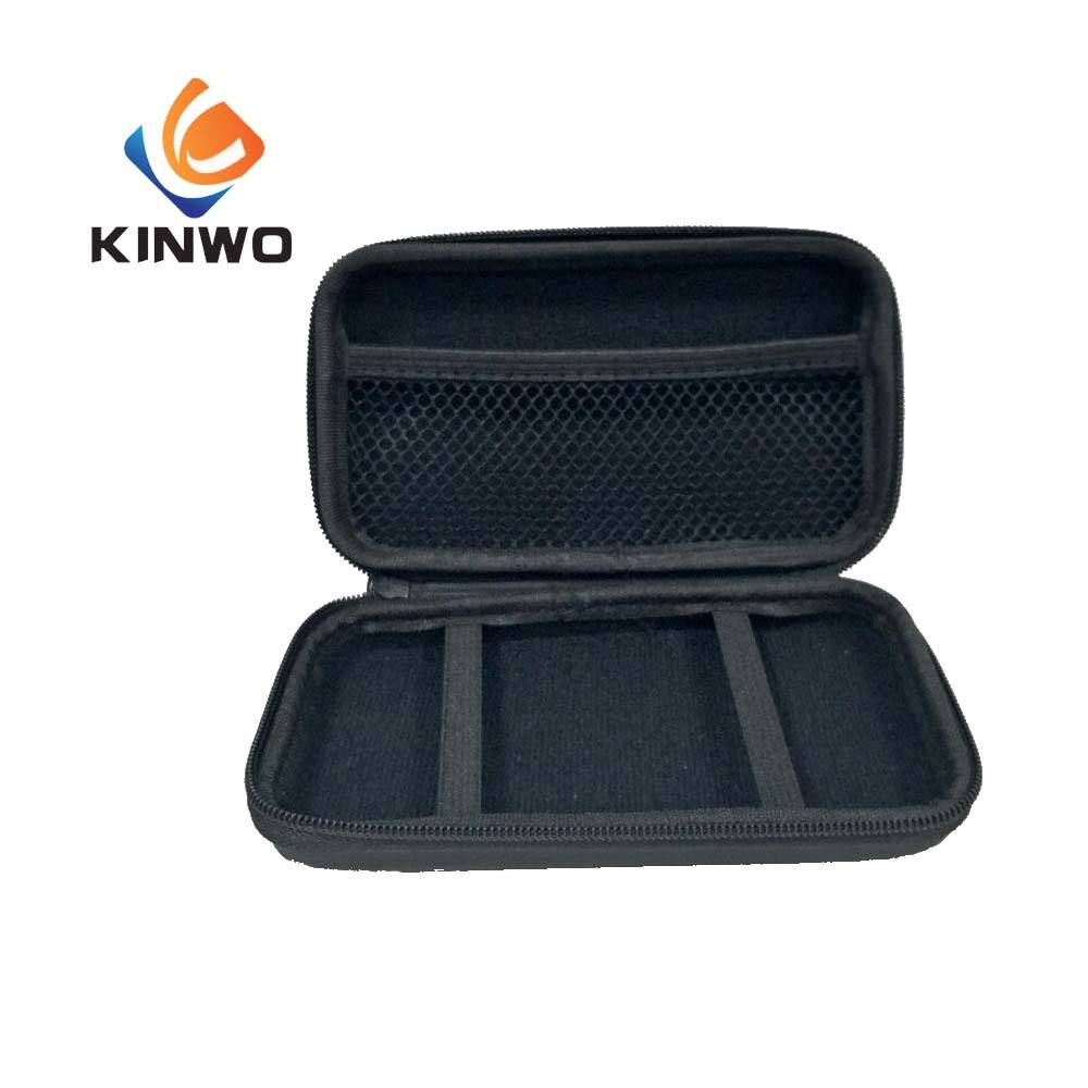 Black Multifunctional Durable Carrying Case Hard EVA Case Of Electronic Tool.