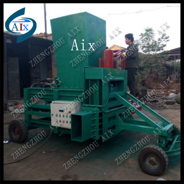 hydraulic sawdust wood shavings press baler machine/sawdust baler for sale