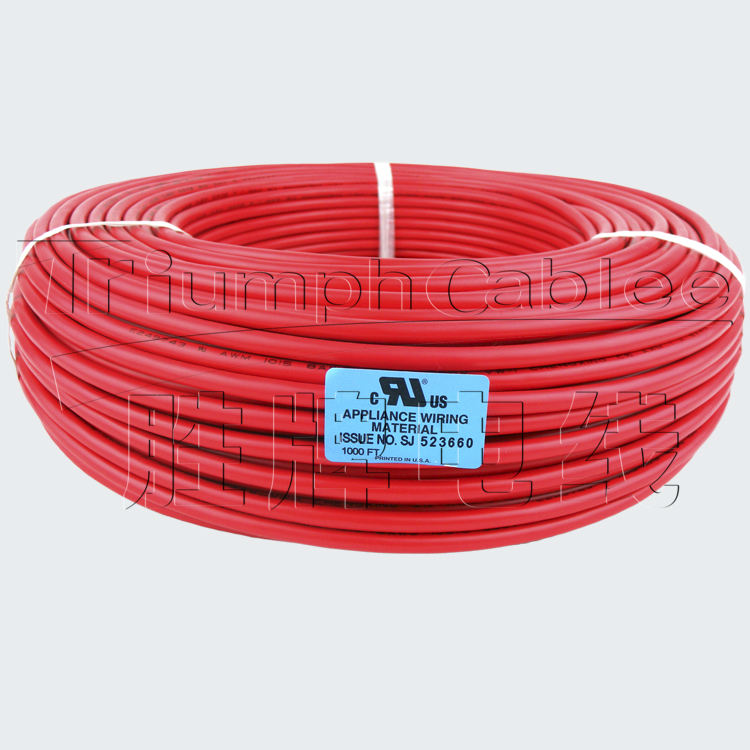 Stranded UL1015 Hookup Cable Automotive Electrical Equipment Wire 12AWG to 24AWG