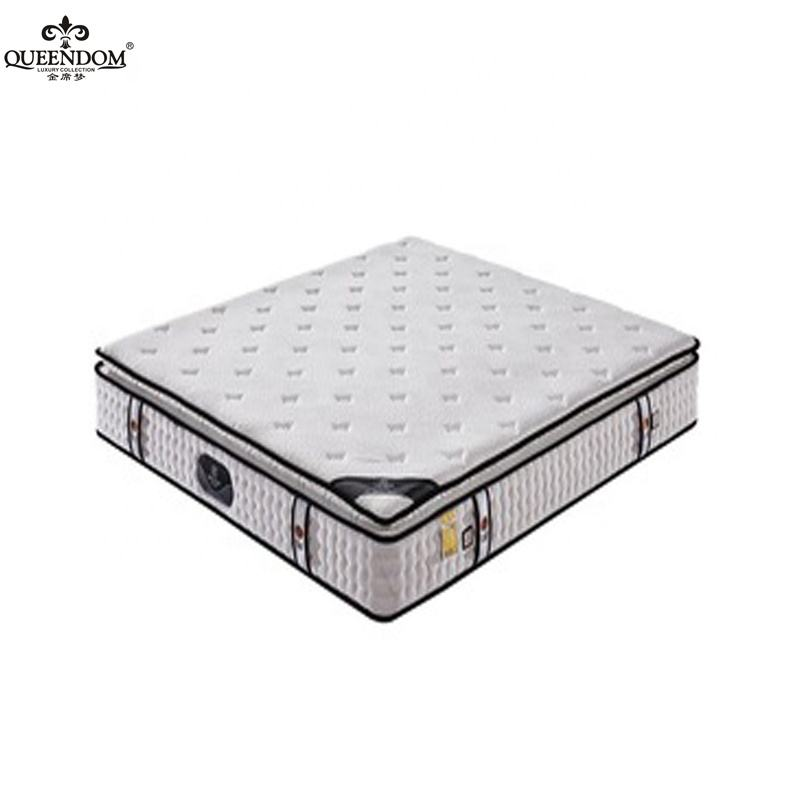 Hot selling high density memory foam rolled full size mattress