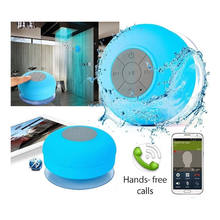 Factory best selling products mini bluetooth speaker waterproof with sucker