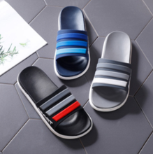 2019 fashion simple new summer men's slippers indoor and outdoor non-slip breathable PVC beach men's slippers