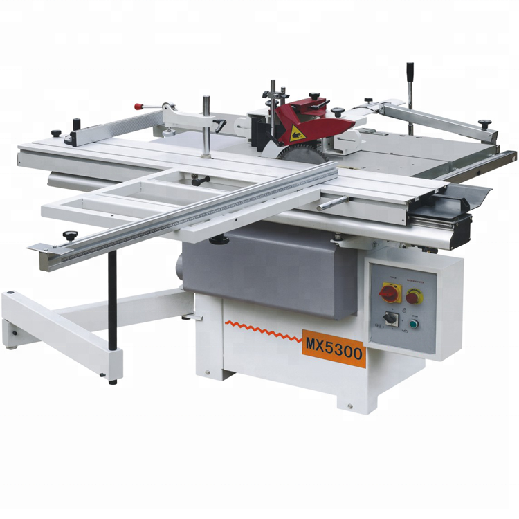 MX5300 Universal CE Standard 5 in 1 Combined Wood Working Machine
