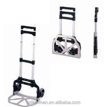 Portable foldable luggage hand trolley /Aluminum folding luggage hand trolley /Lightweight Foldable hand cart