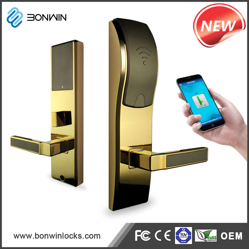 Electronic Lock Card Based Mortise Lock for Boutique Hotel
