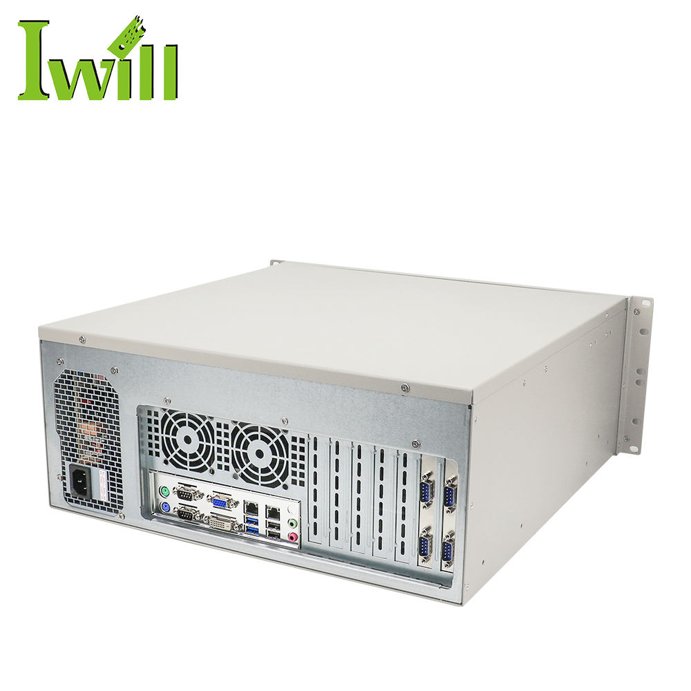 4U Firewall Rack Mount Chassis Intel core i3 i5 i7 Processor Network Clouding Server with 4 DDR3 Ram Slot