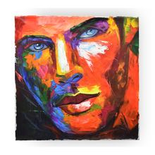 Custom Modern Abstract Colorful Portrait Oil Painting from Photo