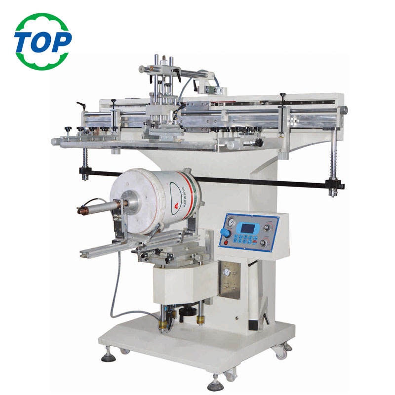 5 Gallon PC Water Bottle Printing Machine, Plastic Bucket Screen Printing Machine