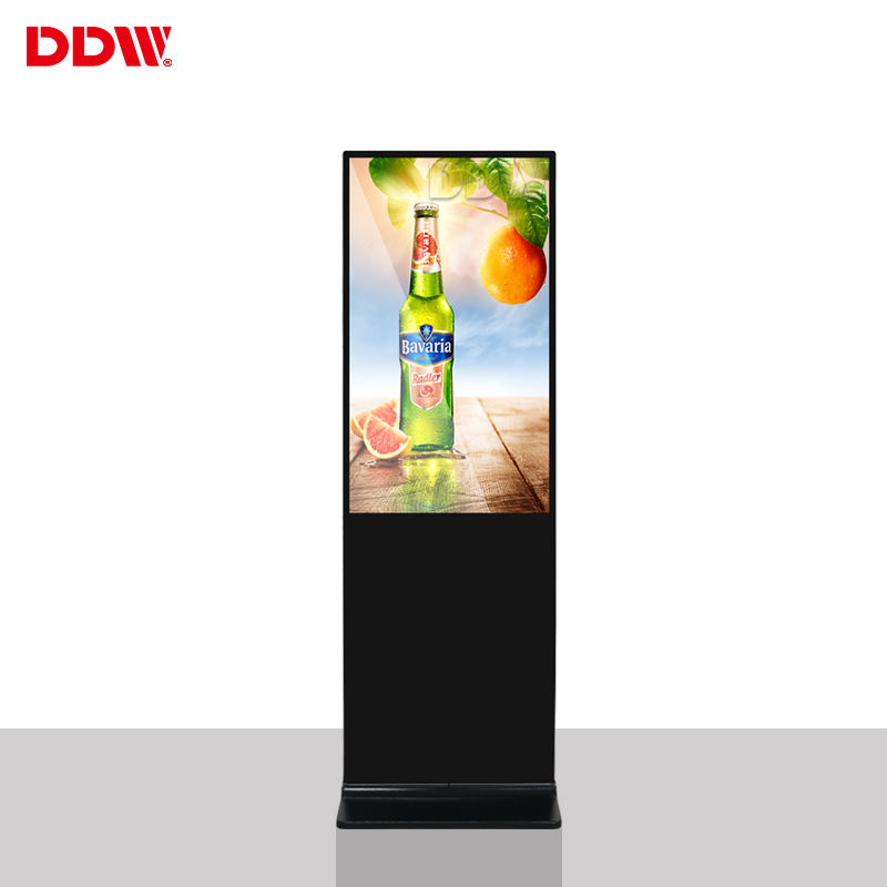 Customization 43 inch ultra slim lcd digital signage LG panel bluetooth digital touch screen advertising for shopping center