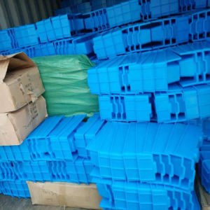 Decorative Form Concrete Hollow Paver Block Plastic Mould