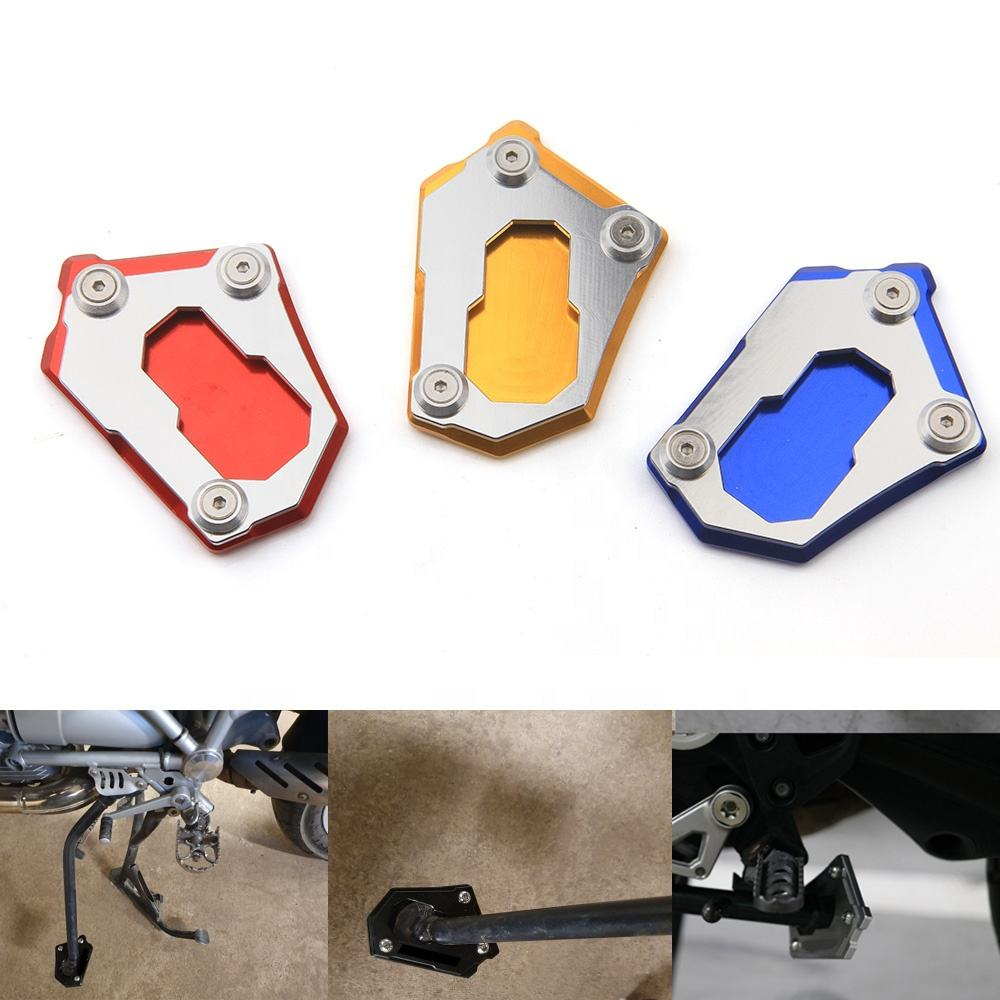 Aluminum Alloy Kickstand Side Stand Plate Pad for YAMAHA R25 13-15 ...