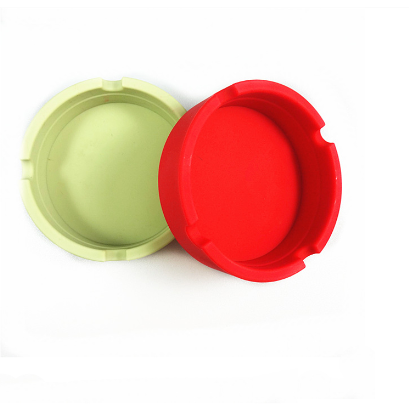 2018 Hot sell Round silicone ashtray