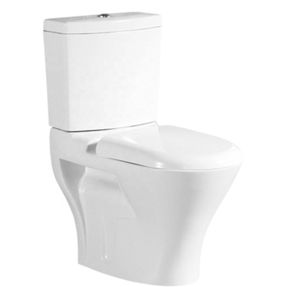 China Manufacturer wc toilet cheap two piece water closet with first quality