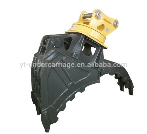 Excavator Attachment Rotating Grab Thumb Bucket OEM Price