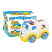 Hot selling kids toys electric universal hospital toy cartoon car HC271740