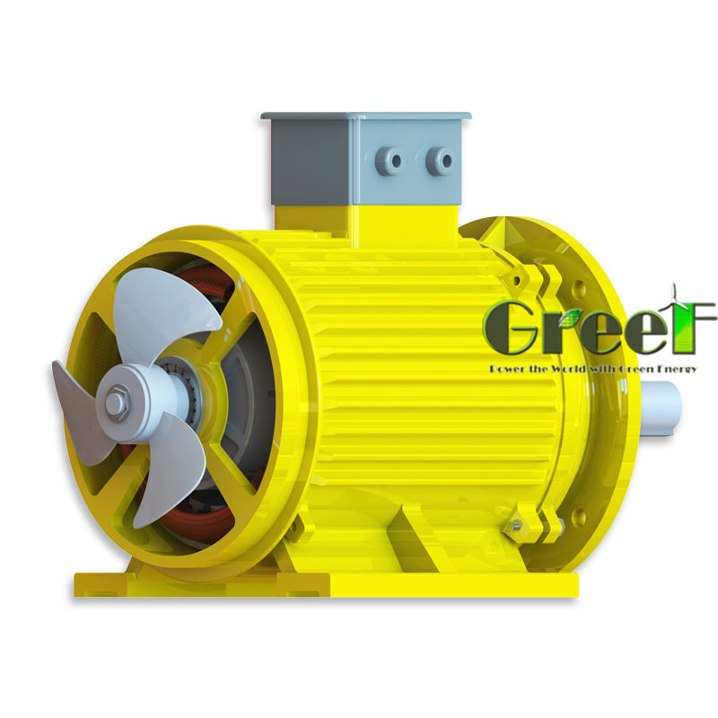 10kW 150RPM wind turbine generator/alternator with low rpm permanent magnet generator for sale.