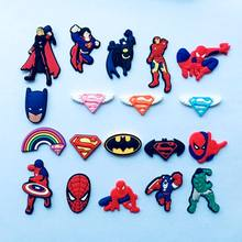 Party Kids Boys Super Heroes Figure Accessory Shoe Charm XH-39A