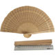 Wedding favors Chinese carved folding fragrance sandalwood hand fan
