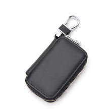 Key pouch leather key wallet