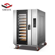 Multifunctional High Quality 8 Layer Digital Baking Equipment Bread Hot Air Convection Oven
