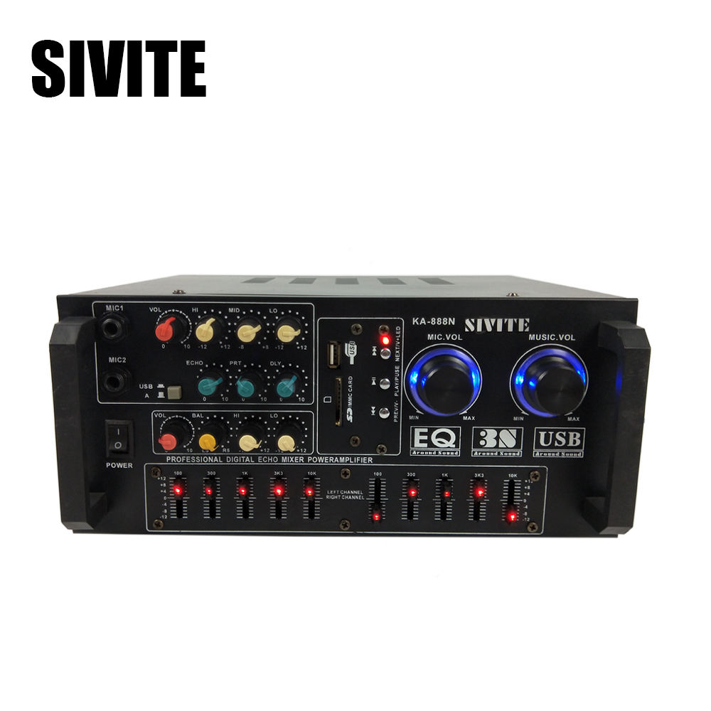 China sivite subwoofer class d active speaker amplifier module K888N