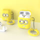Premium Silicone Minions Airpod 1&2 Case with Keyring Front LED Visible with no Hinge