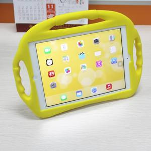 OEM Custom Kinder Cartoon Silikon Shock proof Stand Tabletten Schutz Abdeckungen für iPad Kinder 7 inch Mini 2 3 4 tablet Fall