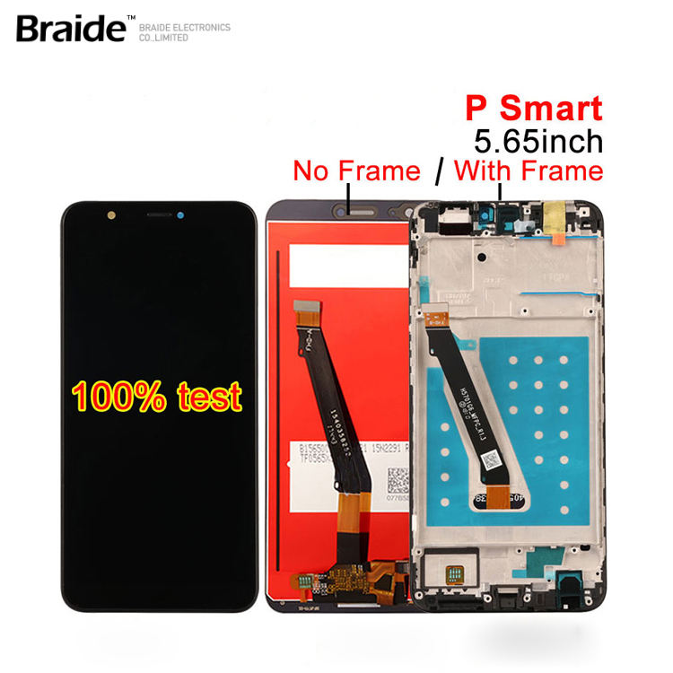 LCD Display For HUAWEI P SMART, Touch Screen Digitizer with Frame Original 5.65 inch Black White Blue FIG LX1 FIG-LX1 FIG-LX3