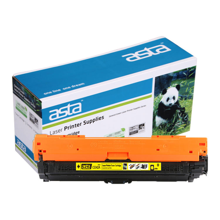 ASTA New Printer Color Cartridge for HP Toner CE340A CE341A CE342A CE343A