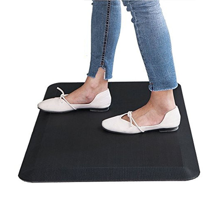 High end waterproof PU foam office standing anti fatigue comfort floor mat,high quality kitchen floor mat