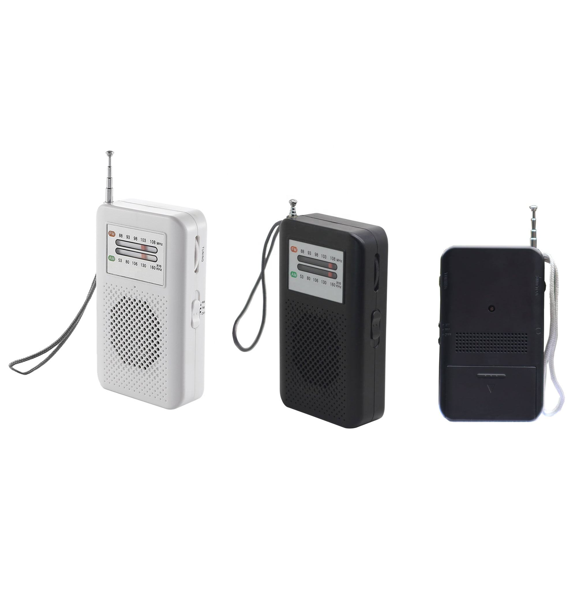 Mini Portable pocket radio am fm receiver home radio