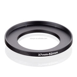 CNC machined anodized aluminum camera adapter ring 37mm-52mm