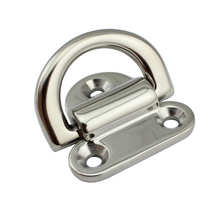 Stainless steel 316 D Rings Buckles buckles yacht yacht belay retaining ring trailer TAB ,casting