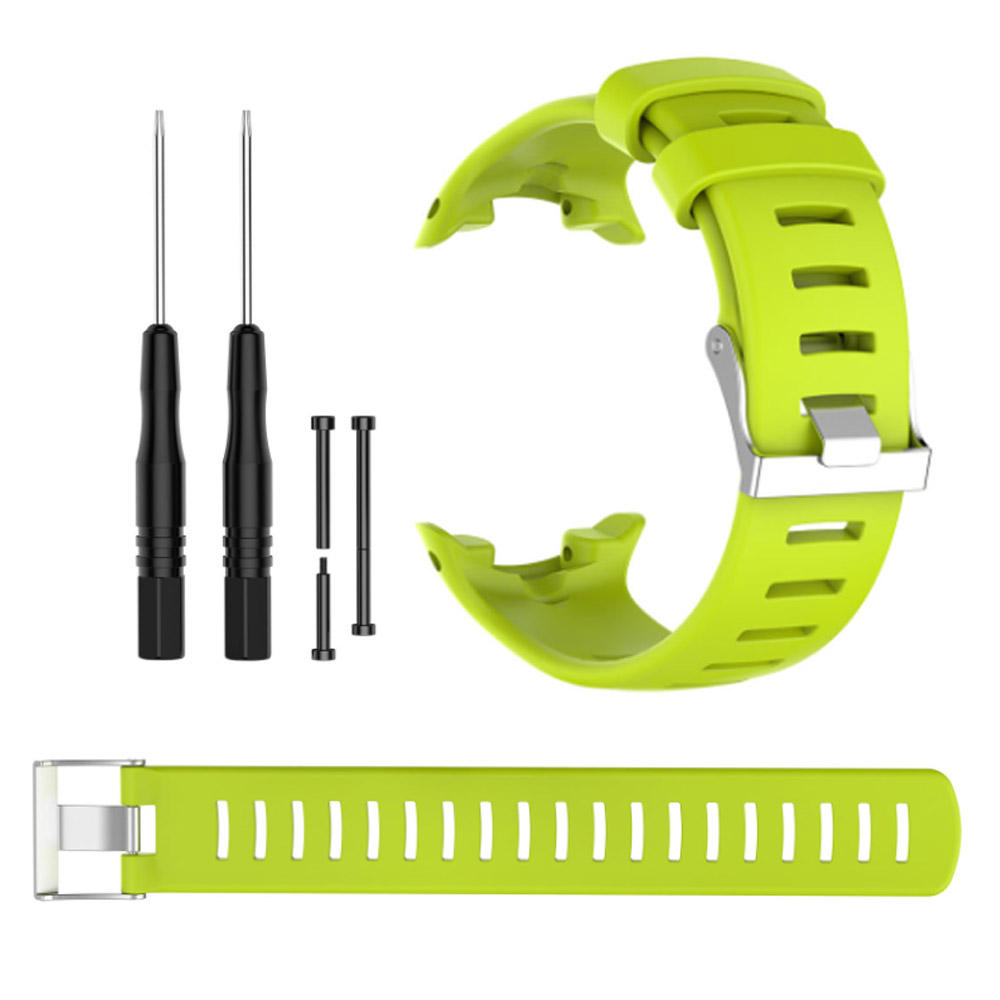 IVANHOE Fit For Suunto D4/D4i Novo Watch Soft Silica Gel Band Watchband Replacement Wristband