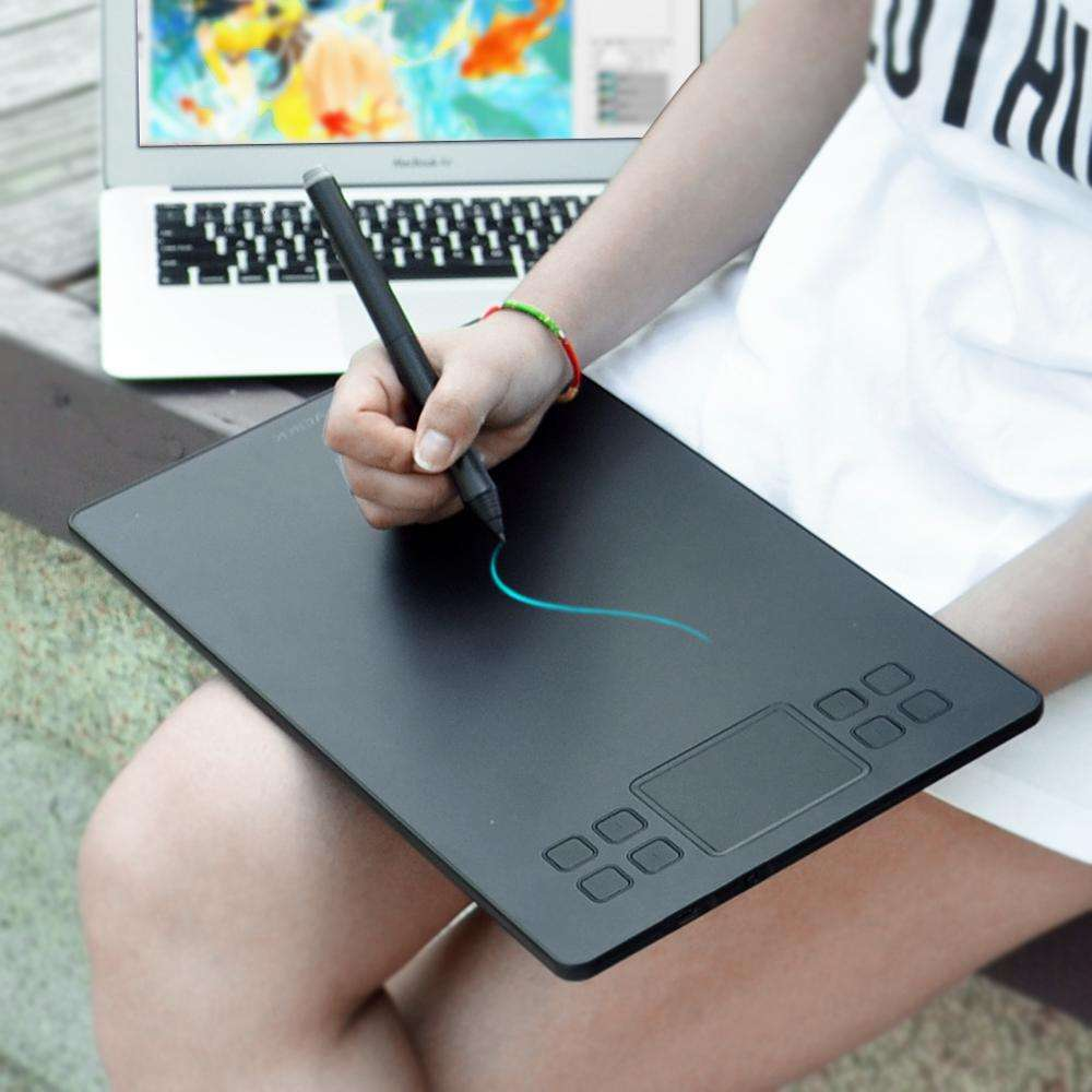 Drawing Tablet OEM Customized Graphic Pen Tablet with 8192 Pen Pressure Levels