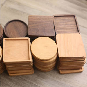 Wholesale good quality wood drink coaster / tea coffee beer cup mat