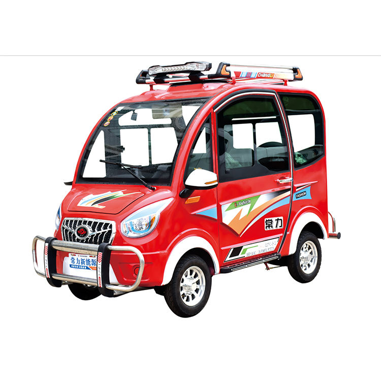 Four-wheel electric environmental protection car small electric car