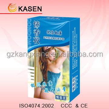 Profesyonel 3pcs/box özel prezervatif