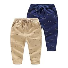 Ali Express Shopping Show The Kids Fish Printed Children Pants Trousers For Boys