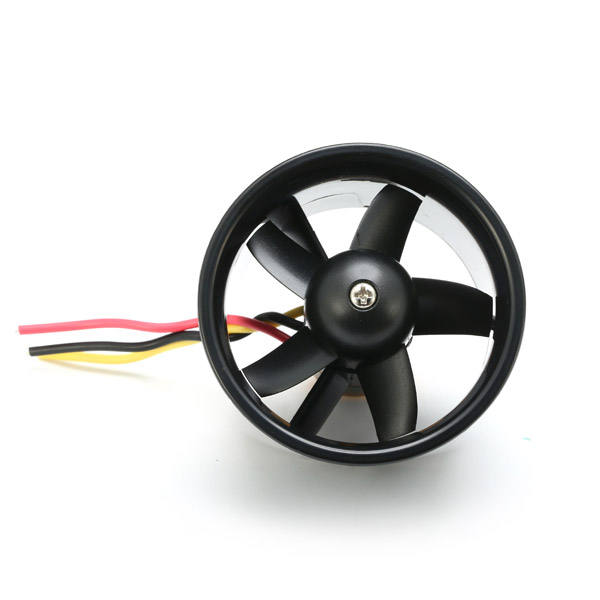 QB011 QX-Motor Electric Ducted Fan 2611 4500KV Brushless Motor 64MM EDF 5 Blades Unit 40A esc for RC Airplane Model Accessories