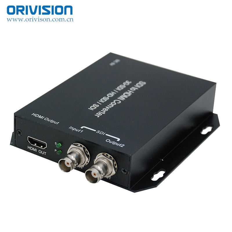 SD-SDI/HD-SDI/ 3G-SDI to HDMI Converter with SDI loop-out