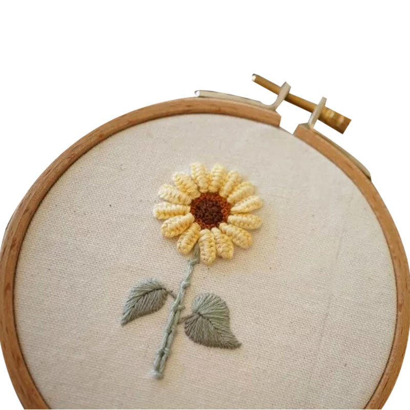 cross stitch set FLOWER Multi Patterns Chinese hoop Embroidery