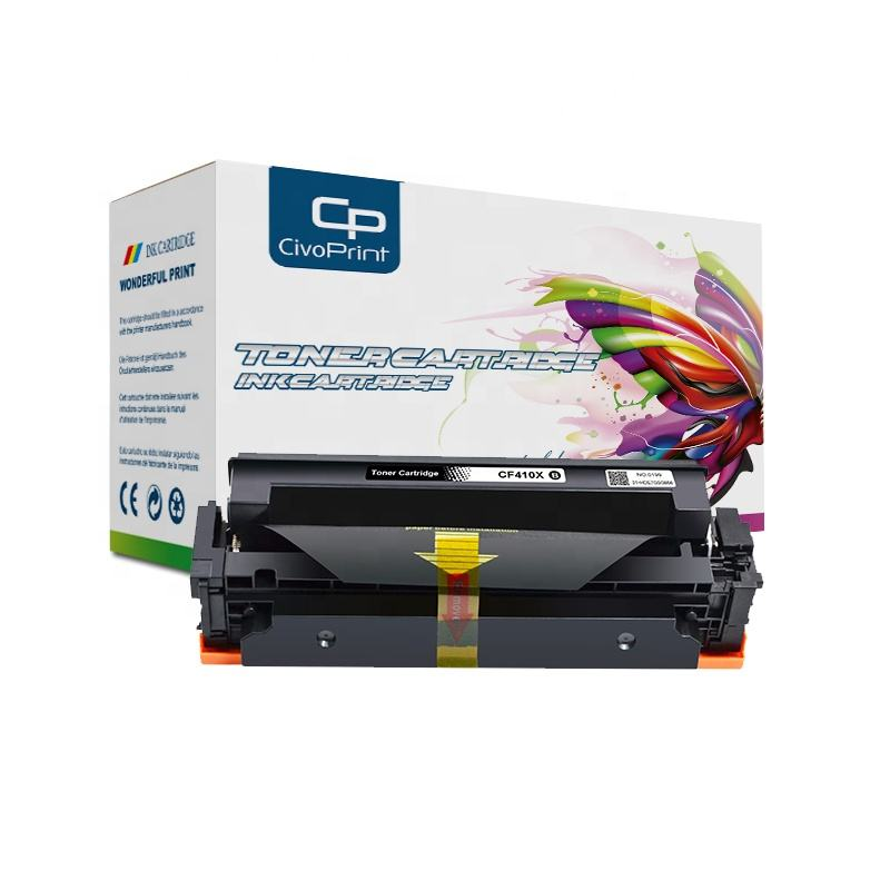 Laser printer toner cartridge kompatibel untuk Warna Pro M452dw CF410X/M452nw/MFP 477fnw