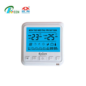 16A Electric Symbol Programmable Heat And Cooling Thermostat