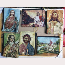 Religious Bag Brocade Pouches Woven Purse Cases Icon Religious Rosary Pouch Bag Factory