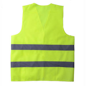 Hot sale Unisex Breathable Work Vest Yellow High Visibility Reflective Safety Vest