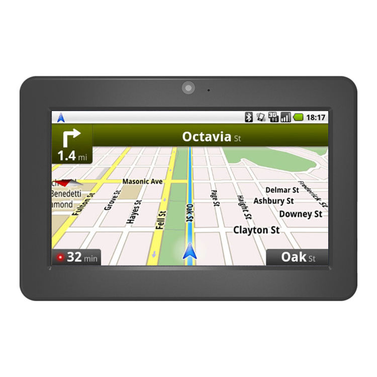 Auto Universal Apical 7 Inch In-Car Mediatek Portable Gps Interface Navigation Device For Truck