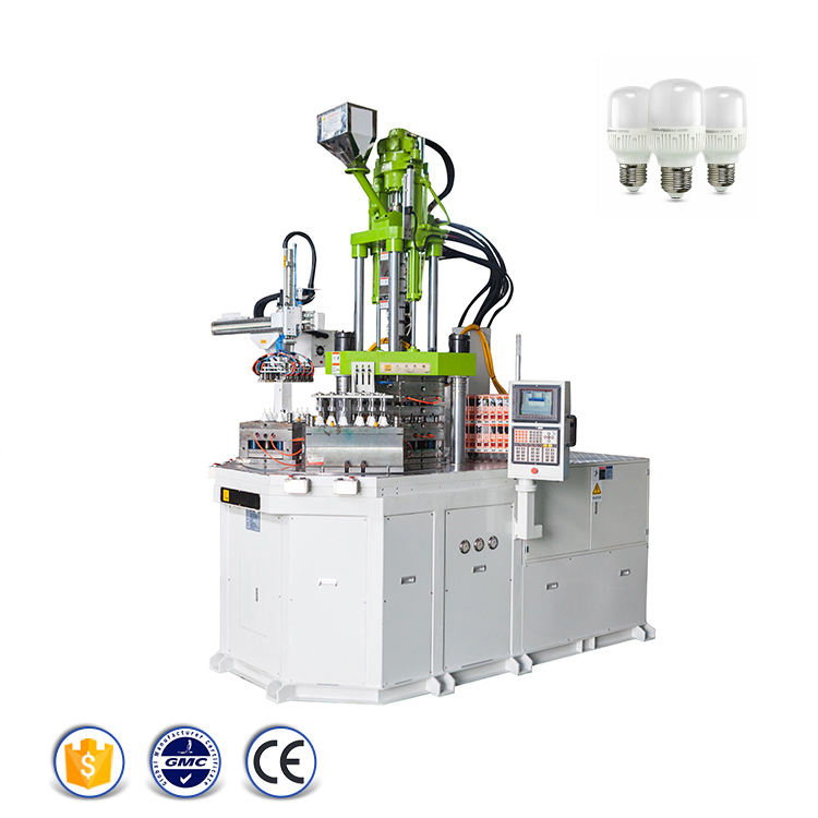 LED Bulb Lamp Light Housing Cup Body Making Plastic Injection Molding Machine