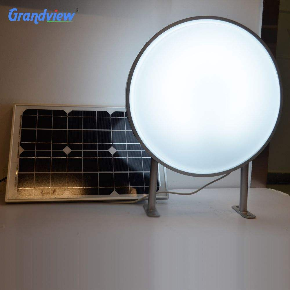 Solar panel outdoor square round led acrylic vacuum forming advertising light box signage